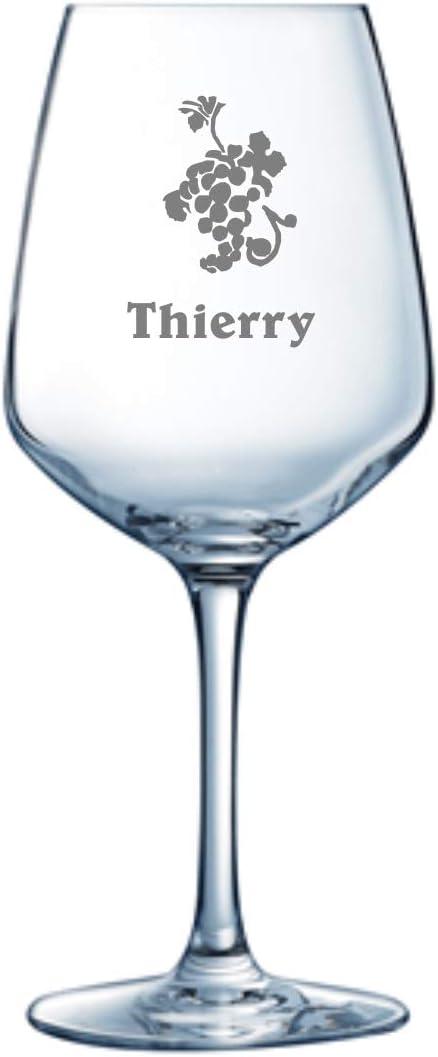 ARCOROC Gravure sur Verre /à vin Vina Juliette 40 Cl personnalis/é avec textes et Logos 600 Logos au Choix
