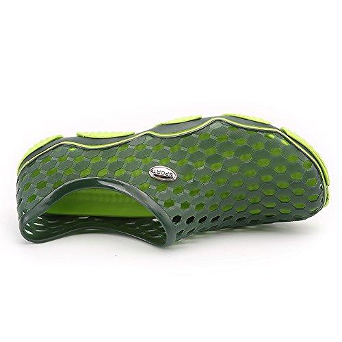 Quick Green Drying Hole Shoes Men's Shoes Water Aqua Women's Advogue Shoes Breathable PXwIHBqnxZ