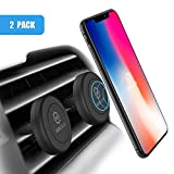 Magnetic Phone Mount, WixGear [2 Pack] Universal