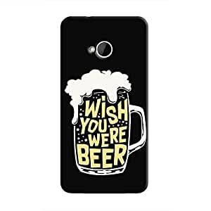 Cover It Up - Wish You Were Beer One M7 Hard Case