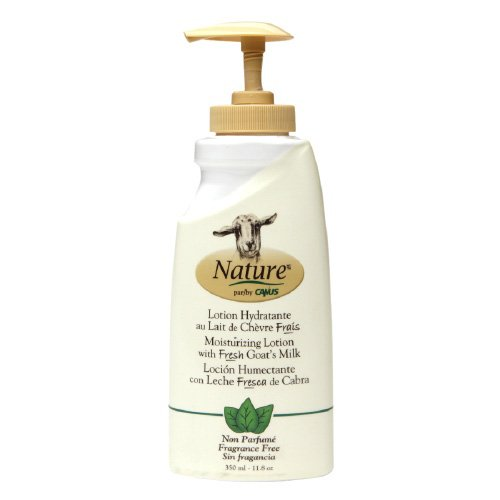 Nature By Canus Lotion - Goats Milk - Nature - Fragrance Free - 11.8 ()