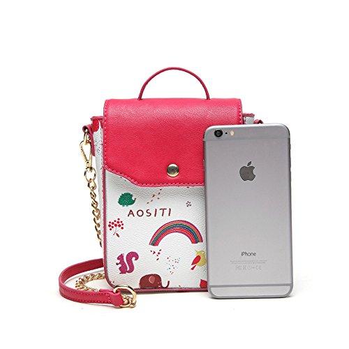 Borse A Portafogli Body Donna Tracolla Cellulare Catena Borsetta Portamonete Cross Borsa Bag Mini Pu Otomoll Bq7wxTC07