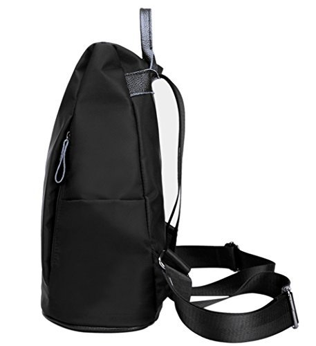 whobabe Frauen Wasserdicht Leicht Nylon Bookbags Rucksäcke für Mädchen Casual Backpack Schultertasche