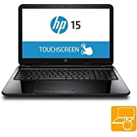 HP Touchsmart 15.6 Touch-Screen Laptop - AMD Quad Core A8 Processor, 4GB Memory, 500GB Hard Drive, Windows 8.1, Black