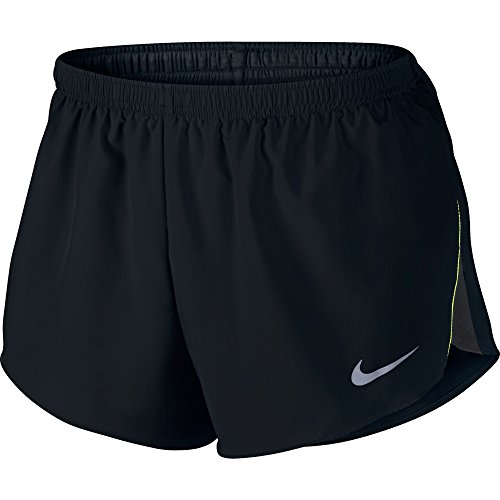 "NIKE Men's 2"" Racer Short Black/Anthracite/Volt/Reflective Silver Shorts SM X 2"