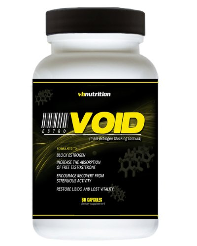 EstroVoid Estrogen Blocker for Men | Aromatase Inhibitor, Anti Estrogen, and Testosterone Booster