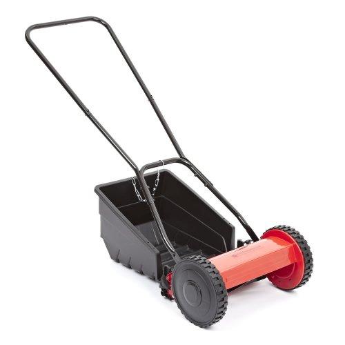 Hand Cylinder Mower (Trueshopping Hand Powered Lawnmower Cylinder Scissor Action 30cm Cutting by Trueshopping)