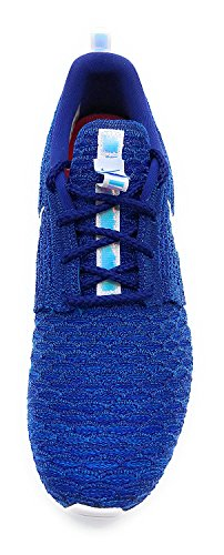 White Photo Rosherun Shoes Running Flyknit Iridescent Nike Women's Blue Z0wqRn6x