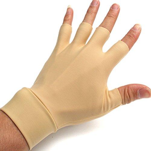 Gent House Unisex Half-finger Anti Arthritis Health Gloves Men - Glove Anti