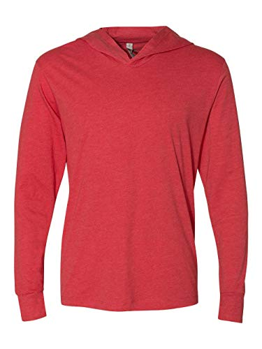 Next Level Apparel 6021 Unisex Tri-Blend Long-Sleeve Hoody - Vintage Red44; ()