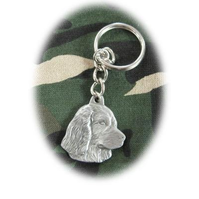 Rawcliffe Pewter Key Chain I Love My Boykin Spaniel