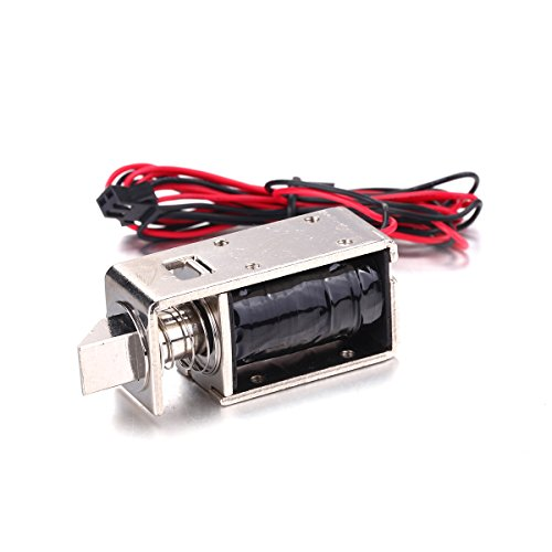 Atoplee 1pcs DC 12V 2A Mini Electric Bolt Lock for Cabinet Small Cabinet Lock/Solenoid Door Lock