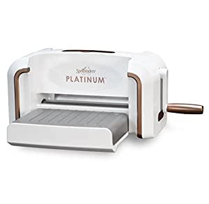 Spellbinders PL-001 Platinum Cut & Emboss Machine, White
