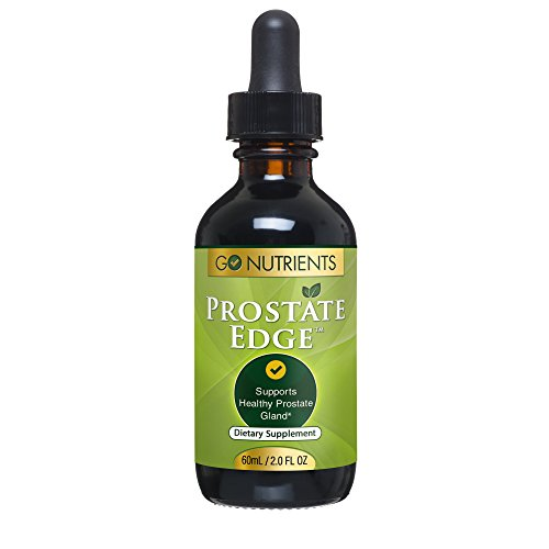 Prostate Edge - Health Support Supplement for Men with Saw Palmetto Plus More - 2 oz Liquid - Botanical Prostate Support