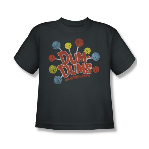 Dum Dums Candy Lollipop Original Pops Big Boys T-Shirt Tee