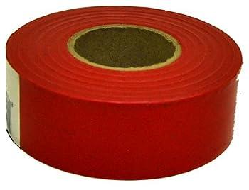 CH Hanson Fluorescent Red Flagging Tape