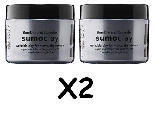 (Bumble and Bumble Sumoclay Workable Clay for Matte Dry Texture for Unisex, 1.5 Ounce)