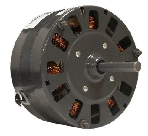 Fasco D342 5.0-Inch Diameter Shaded Pole Motor, 1/15 HP, 115 Volts, 1050 RPM, 1 Speed, 2.3 Amps, CW Rotation, Sleeve Bearing