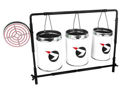 Gamo 62112211054 Plinking Target with Cans (Gamo Plinking Target)