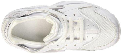 Nike Huarache Little Kids Running Shoes White/Pure Platinum 704949-110 (11.5 M US) by Nike (Image #7)