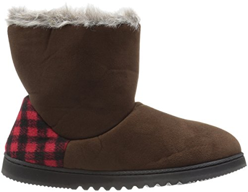 Two Women's Espresso Dearfoams Boot Button Winter qzxT50