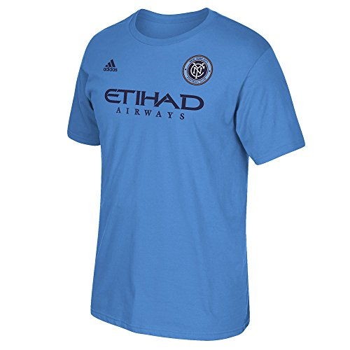 David Villa New York City Football Club Blue Jersey Name and Number T-Shirt T-Shirt X-Large ()