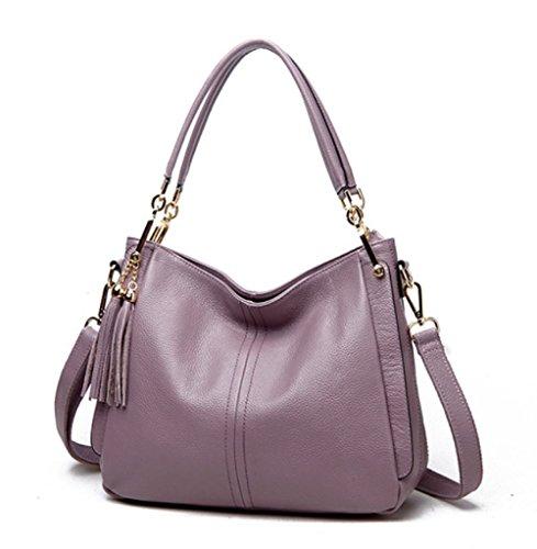 Pelle Toonviolet Capacità Di Donne Borsa Svago Tracolla Leggera Corsa Bag Grande Shopping In qpnBTIxH0