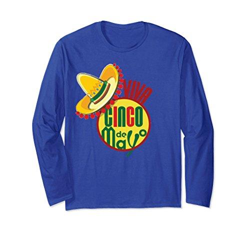 Mayo Cinco De Viva (Unisex Viva Cinco De Mayo T-Shirt Popular Cinco De Mayo Gift Idea Small Royal Blue)