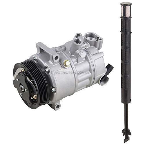 AC Compressor w/A/C Drier For VW CC & Passat - BuyAutoParts 60-86481R2 NEW ()