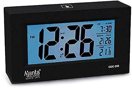 Ajanta Digital Table Clock (ODC-200 Black)