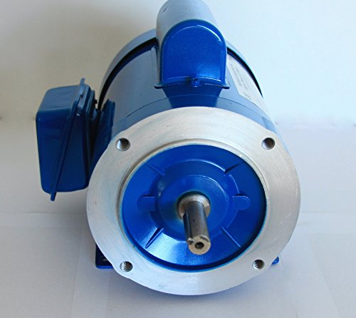 Hallmark Industries MA0510A AC Motor, 1 hp, 1725 RPM, 1PH/60 Hz, 115/208-230 VAC, 56C/TEFC, Cap Start with Foot, SF 1.15, Class F Insulation (Pack of 1) by Hallmark Industries (Image #2)