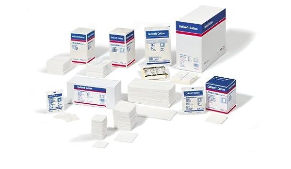 Cutisoft algodón compresas de 7,5 x 7,5 cm no estéril 8-compartimento, 100: Amazon.es: Salud y cuidado personal
