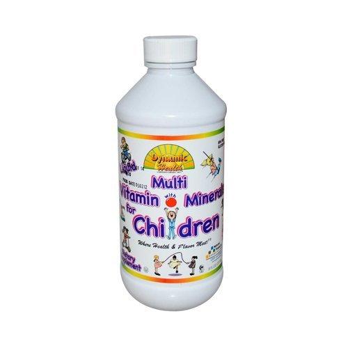 Child Liquid Multivitamin 8 oz ( Multi-Pack) by DYNAMIC HEALTH
