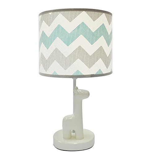 The Peanut Shell Uptown Giraffe Lamp and Shade