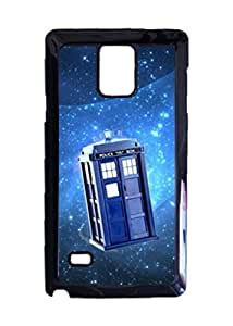 Engood Design Doctor Who TARDIS Stars Case Durable Unique Design Hard Back Case Cover For Samsung Galaxy Note 4 New