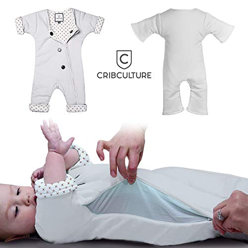 Baby Sleepsuit for Transitioning from Swaddle - 3-7 Months, 12-21 lbs - Helps Your Infant Sleep Better and Self Soothe