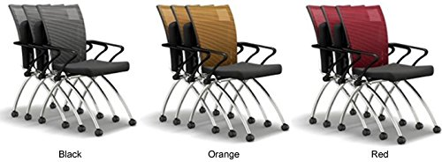 10ft /& 8 Chairs, Textured Driftwood//Black Mesh 8-16 Modern Conference Table /& Chairs Set for Meeting Boardroom Office