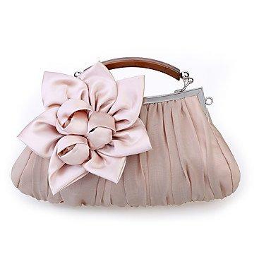 de Pink de occasionnel rose mariage Party Blushing femmes rouge de noir Mousseline Événement blanc soirée violet sac gris Satin Kaki Hxqz70wC