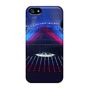 Special Design Back Sochi 2014 Winter Olympics Concert Phone Case Cover For Iphone 5/5s