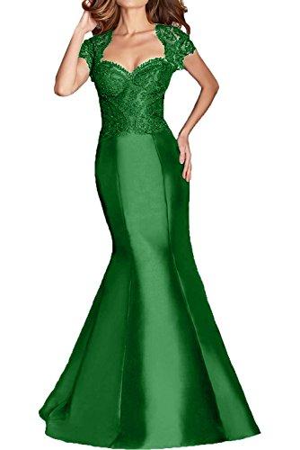 Grün Ballkleider Lang Spitze Formal Trumpet Braut Festlichkleider Damen Brautmutterkleider La mia Abendkleider 1aWqPBaYn
