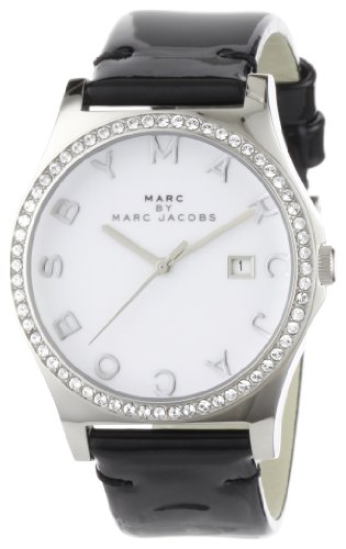 Marc by Marc Jacobs Women's MBM1144 Henry Glitz White Dial Watch