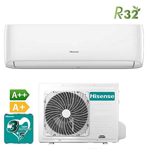 🥇 Hisense – Aire acondicionado Hisense New Eco Easy 12000 TE35YD01 R-32 – Inverter 2018 – Clase energética A++