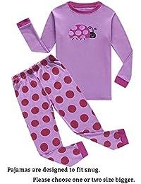 Pajamas Sets Little Boys Girls 100% Cotton Kids PJS Clothes