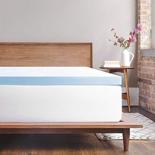 Memory Foam Mattress Topper King | 3 Inch Response Gel Memory Foam Topper - American Made Quality CertiPUR-US Foam - Cloud-Like Comfort and Robust Support for Side, Back, Stomach Sleepers