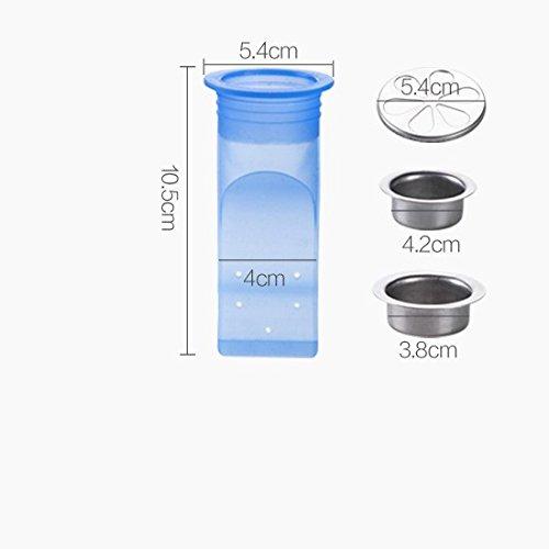 El desodorante del gel de silicona desagüe del piso desagua el ...