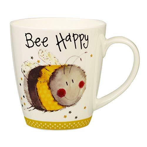 Churchill Alex Clark Bee Happy Gift Coffee Tea Mug