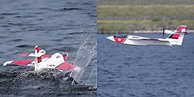 RC Lander EPO 864mm Wingspan Polaris RC Seaplane Airplane PNP, almost any surface including water, ice, snow, grass and more, making it an incredibly versatile model