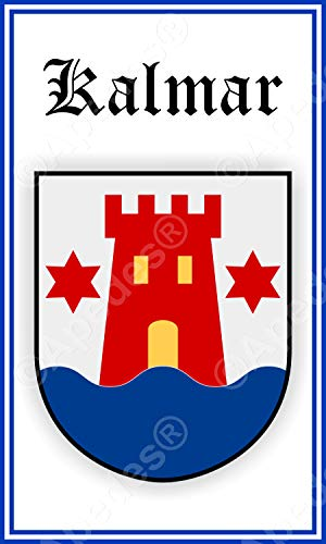 Kalmar Sweden Coat of Arms Computer Tablet Decal Sticker for sale  Delivered anywhere in USA