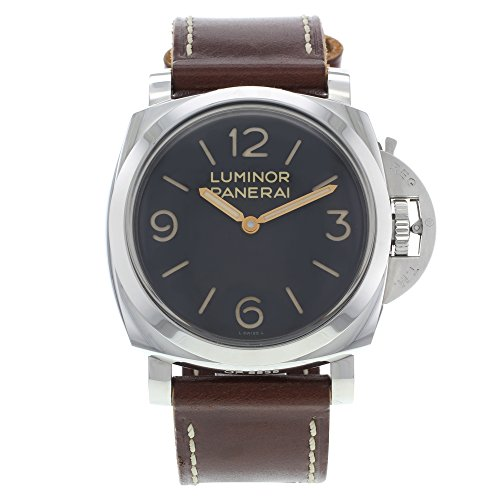Panerai Luminor 1950 Pam00372 Manual Wind Mechanical Steel Men's Watch