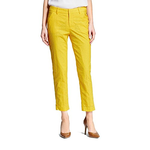 Yellow Ankle Pants - 1